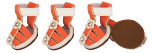 Buckle-Supportive PVC Waterproof Designer Pet Dog Shoes Sandals For Dogs/Cats