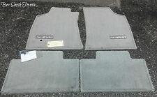 NEW OEM TOYOTA SEQUOIA 2001-2004 LIGHT CHARCOAL CARPET FLOOR MATS 4-PEICE SET