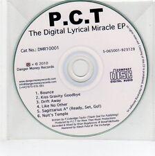 (EG148) P.C.T., The Digital Lyrical Miracle EP - 2010 DJ CD