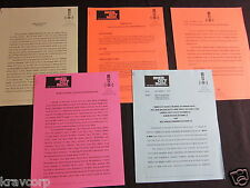 MARVIN GAYE 'INNER CITY BLUES TRIBUTE' 1995 PRESS MATERIALS