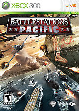 Battlestations: Pacific (Microsoft Xbox 360, 2009) Complete