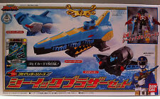 Bandai Power Rangers Sentai Goseiger Gosei Header Series - Seaick Brother Set