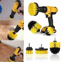 3Pcs/Set Tile Grout Power Scrubber Cleaning Drill Brush Tub Cleaner Combo Tool