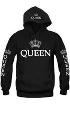 KING AND QUEEN HOODIES VALENTINE NEW MULTI COLORS MATCHING CUTE LOVE COUPLES de