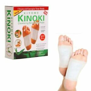Kinoki Detox Foot & Body Patches Pads Toxins Feet Slimming Cleansing Herbal