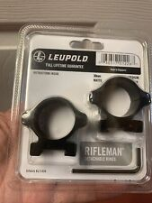 leupold 30mm matte medium rifleman scope rings