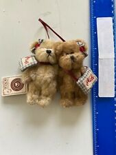 """Boyds Bear Amy & Pam Goodfriends 4"""" w/Tags Style #562418 Forever Friends 45-308K"""