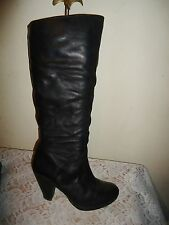 Topshop Pull On Knee High Boots for Women