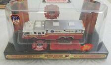 Code 3 FDNY Saulsbury Heavy Fire Rescue  #1 Apparatus Truck #12703 1/64 Diecast