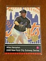 2000 World Series Topps Baseball Base Card #16 - Mike Hampton - New York Mets