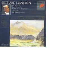 BEETHOVEN Piano Concerto 3 & 5 LEONARD BERNSTEIN RUDOLF SERKIN Royal Edition OVP