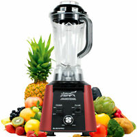 NEW 3.5HP HIGH PERFORMANCE PRO COMMERCIAL FRUIT SMOOTHIE BLENDER JUICE MIXER