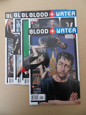 Blood And Water 1 - 5 . Lot Complet . B . Bolland Covers .DC / Vertigo 2003 . VF
