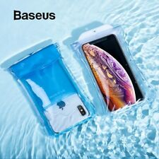Baseus IP68 Waterproof Pouch Bag Airbag Case For iPhone X Huawei P30 Samsung S10
