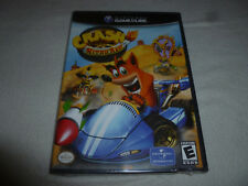 NEW SEALED NINTENDO GAMECUBE GAME CRASH BANDICOOT NITRO KART RACING NFS WII RACE