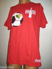 இ T.Shirt Coca Cola Série BRAZIL WORLCUP 2014   இ