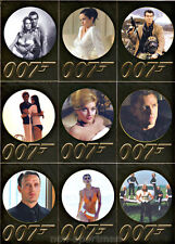 JAMES BOND 50TH ANNIVERSARY SET OF 99 CARDS