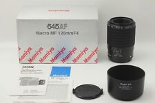 【TOP MINT+++!! in BOX】 Mamiya 645 AF 120mm f/4 Macro MF Lens for AFD from Japan