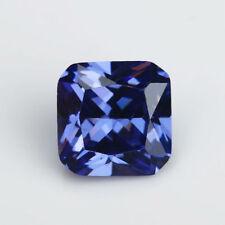 Beautiful Unheated 3.90ct 8x8mm Blue Tanzanite Cushion Shape AAAAA Loose Gem