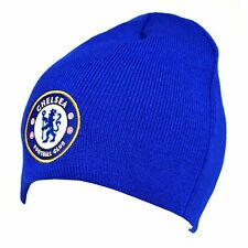 Chelsea Basic Beanie Hat - Royal New Football Sport Winter Gift Birthday Novelty