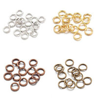 Brass Jump Rings Close but Unsoldered Multi-Color for Jewelry Making