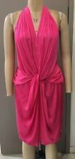 WITCHERY Draped Grecian style halter cocktail dress ~ Size 16