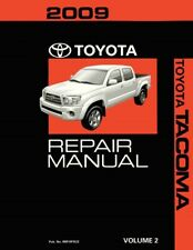 2009 Toyota Tacoma Shop Service Repair Manual Volume 2 Only
