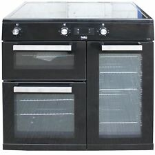 Beko 90 cm Induction Electric Range Cooker Double Oven KDVI90K #2512