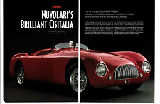 THE CISITALIAS OF THE 1947 MILLE MIGLIA ~ ORIGINAL 8-PAGE 1998 ARTICLE