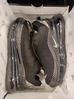 Nike Air Max MX-720-818 Men's Black Silver Running Shoes (CI3871-001)  Size 10