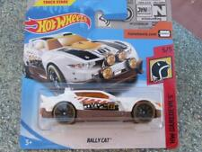 Hot Wheels 2018 # 000/365 RALLY Gato Blanco sobre marrón HW TEMERARIOS Funda A