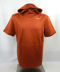 Nike Therma Fit Short Sleeve Hoodie Men's Size M-XXL New with Tags 908349 802