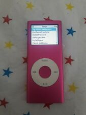 Apple iPod 4GB A1199 Pink - Working - No Accessories - Has scratches