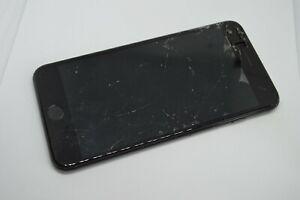Apple iPhone 7 Plus 32GB Jet Black AT&T BROKEN UNRESPONSIVE  FOR PARTS #S343