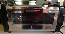 Vintage Toastmaster Oven Broiler Chrome Model 5226 Made In The USA Clean