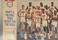Dream Team Poster - Rare 2 Sided Poster from Kraft Foods