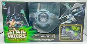 2002 Hasbro Star Wars Power of the Jedi Toys R Us Excl Imperial TIE Interceptor