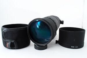 [Excellent] SIGMA120-300mm F/2.8 APO HSM EX DG Lens for Nikon JAPAN 741002