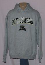 Pitt Panthers Champion Hoodie Sweatshirt Gray XL - NCAA