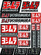 NEW Genuine Yoshimura estampé en alliage d/'aluminium Plaque Logo Autocollant 58 mm x 8 mm