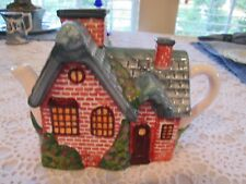 Really Cute Thomas Kincade Brick House Tea Pot