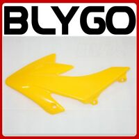 Yellow Plastic Front RIGHT Tank Side Guard Fender CRF50Style PIT Trail Dirt Bike