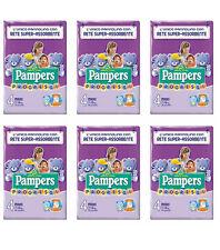 144 Pannolini PAMPERS PROGRESSI Pannolini Bambini taglia 4 Maxi 7-18 kg NUOVI