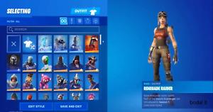 Renegad Raider Black Knight / 200+ skins +BONUS