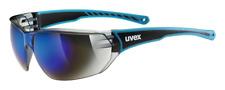 Uvex 5305254416 Unisex-Sportbrille Sonnenbrille Sportstyle 204 UV-Schutz Blau