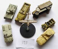 lot of 7 Axis& Allies Wizards of the Coast tank North Africa Kubelwagen #39S