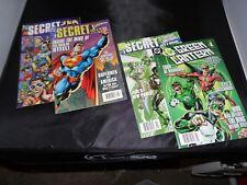 Green Lantern Secret Files & Origins #1 and #2 Plus Superman #2 and JLA #2