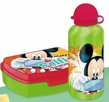 Disney Mickey Mouse Aluflasche Brotdose Brotbüchse Kinder