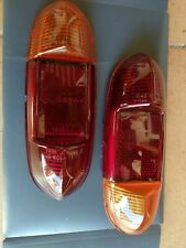 Amber Rear Flasher Lights 6 Volt L539 x 2 for Citroen 2CV Bijou 1961-64