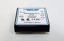 New Power-One DGP20E24T5/12 DC/DC Converter Triple Output NTK230IC